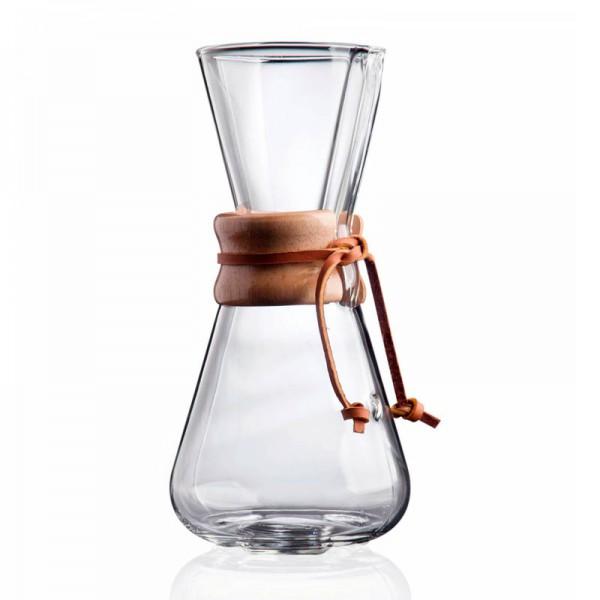 Chemex Kaffeekaraffe (1-3 Tassen)