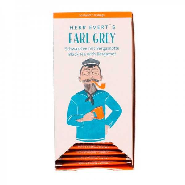 Büdel HERR EVERTS Earl Grey Bio (20 Büdel a 2g)
